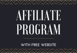 Free affiliate with free website
