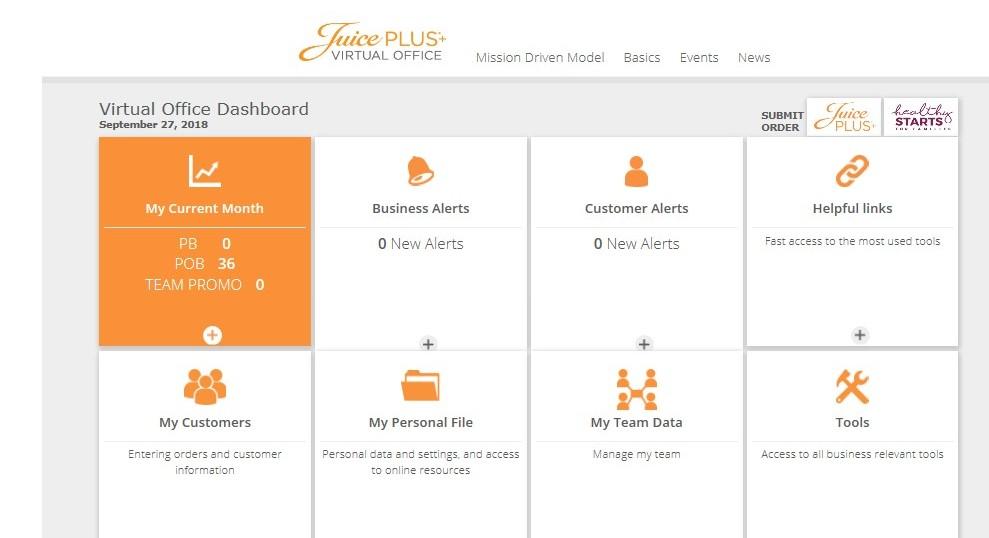 Juice Plus Reviews the Virtual Office